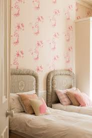 High Quality Belfast Wallpaper For Little Girls Bedroom Shabby Chic Style With Period  Detail Chic Wall Mirrors Twin
