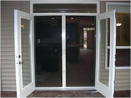 patio french doors with screen french doors patio with screen for 95 pella french patio doors