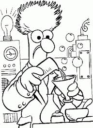 Small Picture A Scientist Working In His Lab In Science Coloring Page Fun