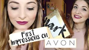 first impressions demo avon makeup new mark collection