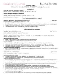 Resume For Business School Resume For Your Job Application