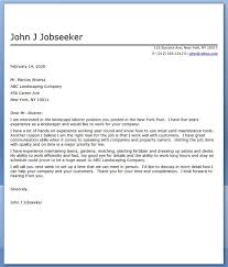 The Best Resume Cover Letter Landscape Cover Letter Sample Cover Letter For Resume