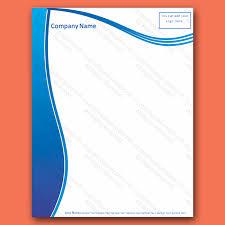 Letterhead Samples Word Stunning Free Letterhead Templates