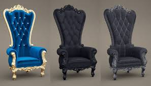 image of throne chairs for craigslist