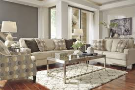 Living Room 3 Piece Sets Signature Design By Ashley Brielyn Linen 3 Piece Living Room Set