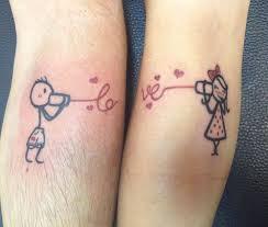 Tatuaggi Di Coppia 37 Idee Da Non Perdere