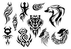Tribal Tattoo Free Vector Art 3288 Free Downloads