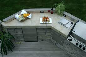 Custom Outdoor Kitchen Designs Custom Outdoor Kitchen Tile Ideas S Best Countertops For Ston Finit