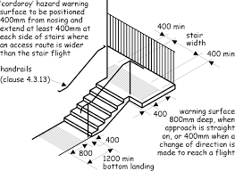external handrails for steps uk. use of corduroy tactile paving external handrails for steps uk