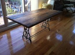 Kitchen Table Reclaimed Wood Reclaimed Wood Table Top Dining Table Kitchen Table Free