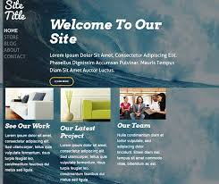 Weebly Website Templates Enchanting Website With A Template On Weebly Twominuteworld
