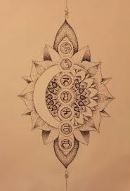 Moon Mandala Design Pin By Mindy Green On Tattoo Love Chakra Tattoo Tattoos