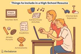 How To Make A Resume For A High School Student High School Resume Examples And Writing Tips