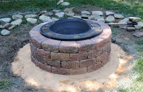 patio ideas medium size homemade patio fire pit plans shadowbox fence copper diy camping fire