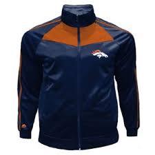 Majestic Jacket Size Chart Details About Mens Big Tall Majestic Nfl Denver Broncos Full Zip Tricot Track Jacket 3x 3xl