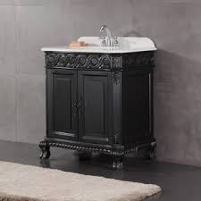 bathroom sink cabinets cheap. ove decors trent 30-inch antique black single sink bathroom vanity with marble top cabinets cheap c