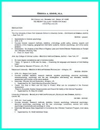 Sample Criminal Justice Resumes Criminal Justice Resume Uses Summary Section Of The Qualifications