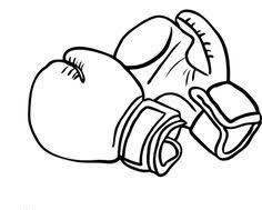 Boxing Gloves Coloring Pages At Getdrawingscom Free For Personal
