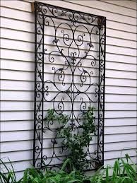 wall metal decor collection in garden wall decor wrought iron images about metal wall art on