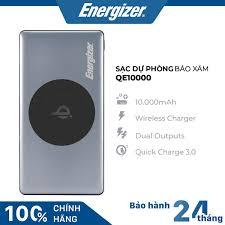 Tới Nơi Bán Giá Rẻ Pin Sạc dự phòng Energizer 10,000mAh /3.7V Li-Polymer -  UE10042BK - Khuyến Mãi Hàng Ngày