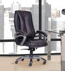 president office chair black. President High Back Chair In Black Colour By Durian Office R