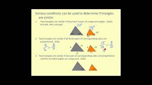 7.2 similar and congruent triangles.notebook 2 march 02, 2017 right: Congruent And Similar Triangles Youtube
