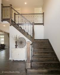 Build Newel Post Outdoor Stair Railing Ideas Staircase Craftsman With Ceiling