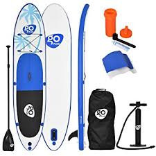 COSTWAY <b>11FT</b> SUP Inflatable <b>Stand Up Paddle Board</b> W/Carry ...