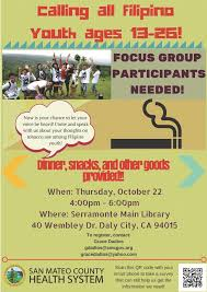 focus group flyers san mateo county health system tobacco survey focus groups north