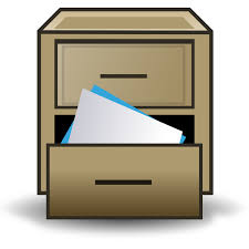 FileFiling cabinet iconsvg Wikimedia Commons
