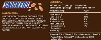 snickers nutrition label world of label regarding snickers nutrition label 25984
