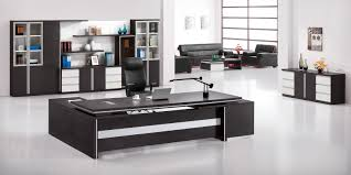 modern ideas cool office tables. Office Furniture Design Best Modern Style Black Lacquered Finish Rectangle Wooden Table Chair Cabinet Faux Leather Ideas Cool Tables M