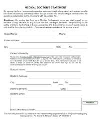 Service Animal Doctors Note Disability Letter Doctor Template Emotional Support Animal Sample