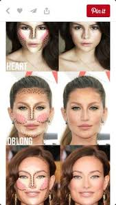 highlighting and contouring guide for your face shape it really makes a difference