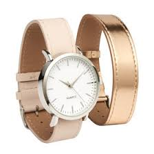 womens accessories kmart watch 2 straps blush rose gold