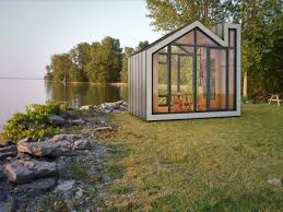 Small Picture Prefab and Modern Bunkie Tiny House Concept