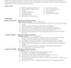 General Laborer Sample Resume Best of Sample General Resume Laborer Example Labor Templates Template For