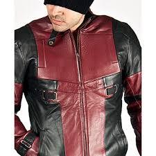 ryan reynolds deadpool leather jacket for