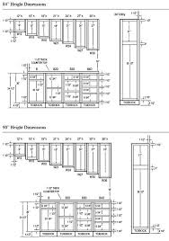 Kitchen Cabinet Heights Stunning Kitchen Cabinet Dimensions PDF Highlands Designs Custom Cabinets