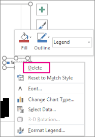 Add And Format A Chart Legend Office Support