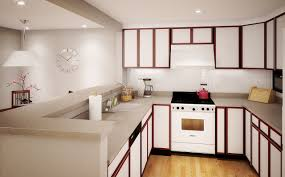 Kitchen For Apartments Simple But Spacious Apartment Kitchen Ideas For Big Apartment