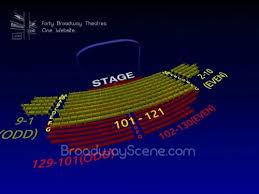 Samuel J Friedman Theatre 3 D Broadway Seating Chart Info