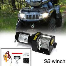 atv winches for kawasaki brute force 300 sb 2500lb 12v 0 8kw electric recovery winch for atv boat snow mobile 2500lbs fits kawasaki brute force 300
