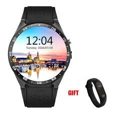 <b>Kaimorui Smart Watch KW88</b> Heart Rate Pedometer Support SIM ...