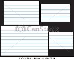 3 X 5 Card Index Cards