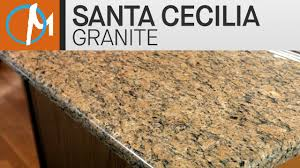 Santa Cecilia Granite Kitchen Countertops IV Marblecom YouTube - Granite kitchen counters