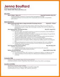 10 Undergraduate Resume Mla Cover Page