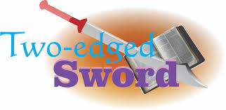 Image result for two edged sword picture