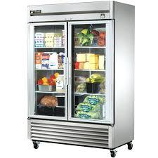 refrigerator glass door true cu ft stainless steel glass door refrigerator clear glass door refrigerator residential