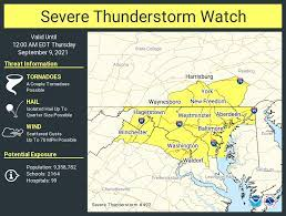 """NWS Severe Tstorm on Twitter: """"A severe ..."""